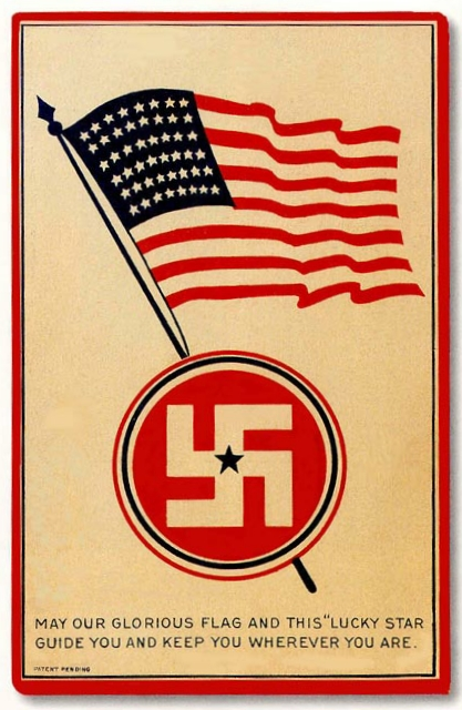 US Swastika Flag